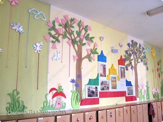 Оформление детского сада из потолочной плитки своими руками