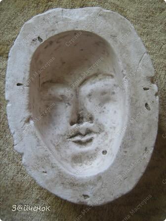 Мастер-класс Папье-маше: Как я делаю маски Бумага газетная, Глина. Фото 2
