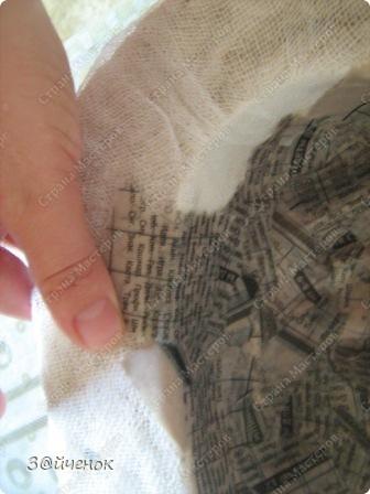 Мастер-класс Папье-маше: Как я делаю маски Бумага газетная, Глина. Фото 7
