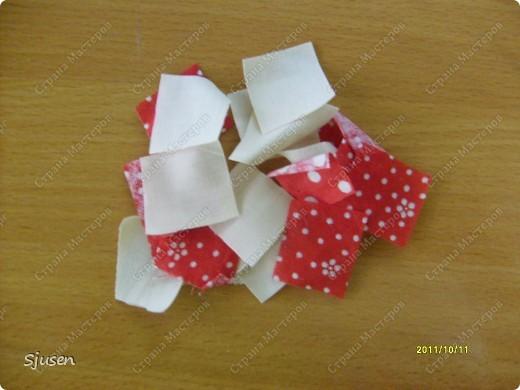 Карточка АТС, Мастер-класс Артишок: Елочные шарики-2 + МК Ткань Новый год. Фото 2