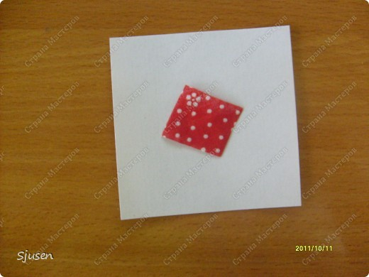 Карточка АТС, Мастер-класс Артишок: Елочные шарики-2 + МК Ткань Новый год. Фото 3