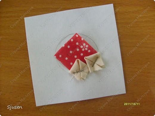 Карточка АТС, Мастер-класс Артишок: Елочные шарики-2 + МК Ткань Новый год. Фото 5