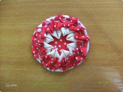 Карточка АТС, Мастер-класс Артишок: Елочные шарики-2 + МК Ткань Новый год. Фото 9