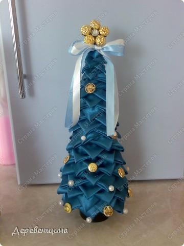 Мастер-класс Артишок: Елка-артишок Ткань Новый год. Фото 1