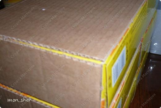 Мастер-класс Моделирование: Комод для мелочей из картона. МК Бумага, Картон, Клей, Коробки, Материал бросовый. Фото 2