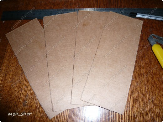Мастер-класс Моделирование: Комод для мелочей из картона. МК Бумага, Картон, Клей, Коробки, Материал бросовый. Фото 9