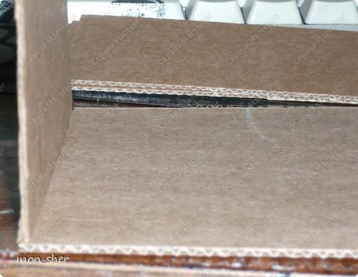 Мастер-класс Моделирование: Комод для мелочей из картона. МК Бумага, Картон, Клей, Коробки, Материал бросовый. Фото 10