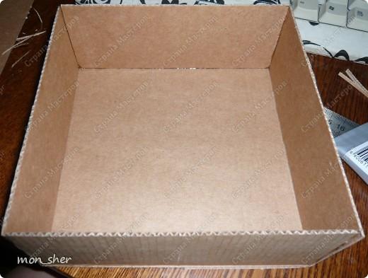 Мастер-класс Моделирование: Комод для мелочей из картона. МК Бумага, Картон, Клей, Коробки, Материал бросовый. Фото 11