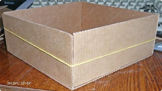 Мастер-класс Моделирование: Комод для мелочей из картона. МК Бумага, Картон, Клей, Коробки, Материал бросовый. Фото 12