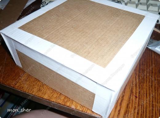 Мастер-класс Моделирование: Комод для мелочей из картона. МК Бумага, Картон, Клей, Коробки, Материал бросовый. Фото 13