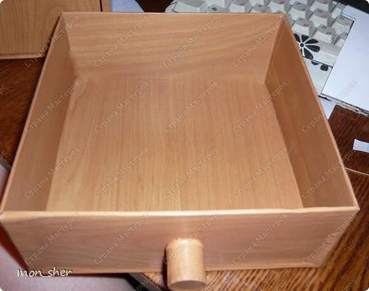 Мастер-класс Моделирование: Комод для мелочей из картона. МК Бумага, Картон, Клей, Коробки, Материал бросовый. Фото 15