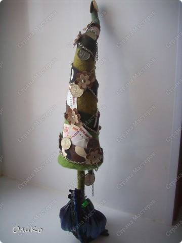 Фэн-шуй Валяние (фильцевание): Денежная елка Шерсть Новый год. Фото 13