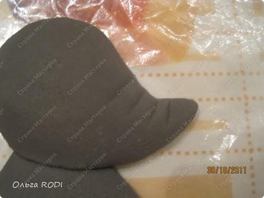 Мастер-класс, Поделка, изделие Лепка: Счастливая мыша Тесто соленое. Фото 4