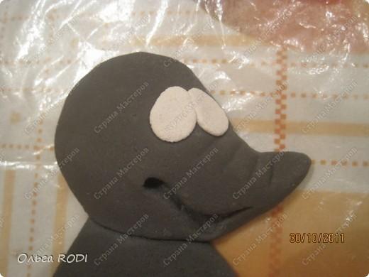 Мастер-класс, Поделка, изделие Лепка: Счастливая мыша Тесто соленое. Фото 7