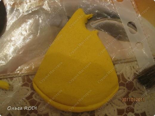 Мастер-класс, Поделка, изделие Лепка: Счастливая мыша Тесто соленое. Фото 17