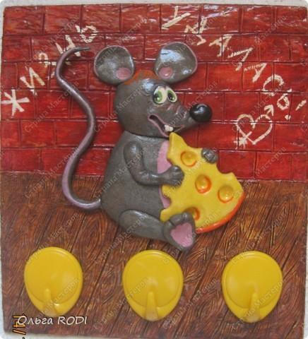Мастер-класс, Поделка, изделие Лепка: Счастливая мыша Тесто соленое. Фото 34