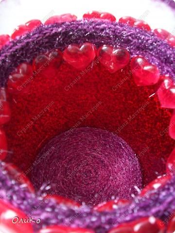 Поделка, изделие: Шкатулка для сокровищ Пряжа Валентинов день. Фото 5