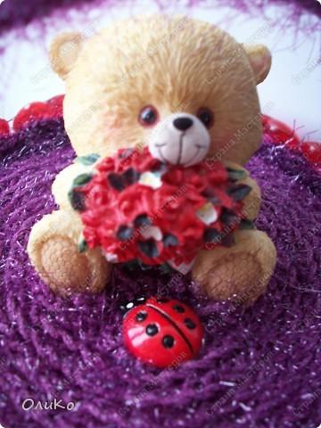 Поделка, изделие: Шкатулка для сокровищ Пряжа Валентинов день. Фото 6