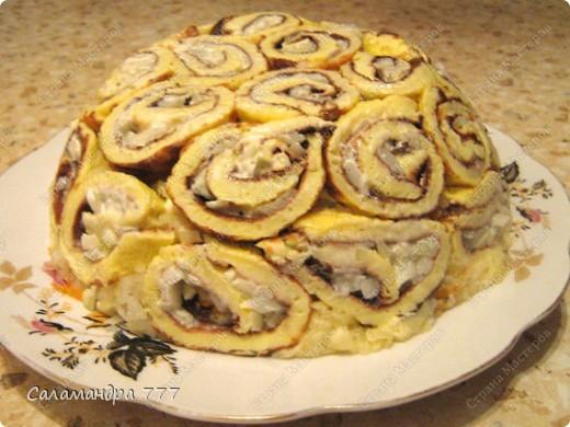 Слоеные салаты рецепты с на скорую руку