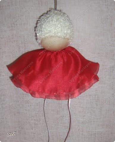 Куклы, Мастер-класс Шитьё: МК ангелочек  Капрон. Фото 17