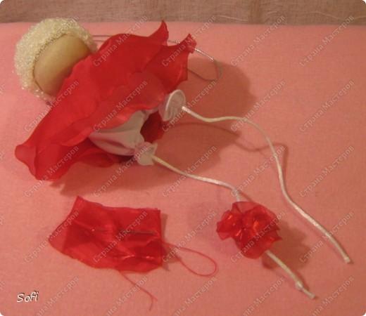 Куклы, Мастер-класс Шитьё: МК ангелочек  Капрон. Фото 19
