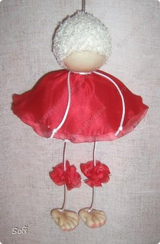 Куклы, Мастер-класс Шитьё: МК ангелочек  Капрон. Фото 20