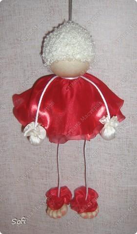 Куклы, Мастер-класс Шитьё: МК ангелочек  Капрон. Фото 23