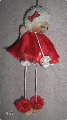 Куклы, Мастер-класс Шитьё: МК ангелочек  Капрон. Фото 25