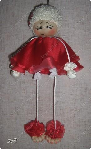 Куклы, Мастер-класс Шитьё: МК ангелочек  Капрон. Фото 24