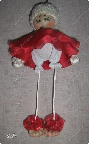 Куклы, Мастер-класс Шитьё: МК ангелочек  Капрон. Фото 26