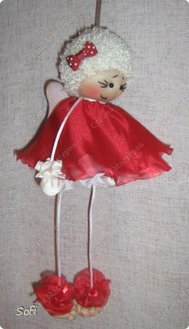 Куклы, Мастер-класс Шитьё: МК ангелочек  Капрон. Фото 2