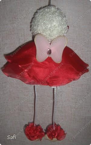 Куклы, Мастер-класс Шитьё: МК ангелочек  Капрон. Фото 27