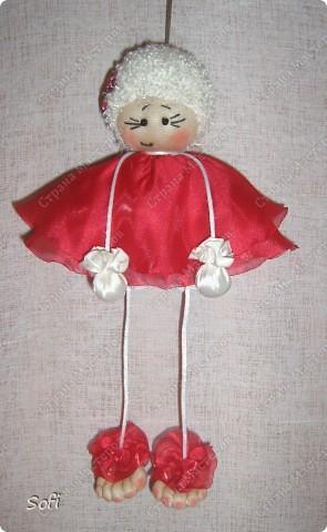 Куклы, Мастер-класс Шитьё: МК ангелочек  Капрон. Фото 1