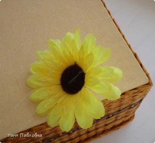 Мастер-класс, Поделка, изделие Плетение: Короб для открытых полок и мааааленький МК Бумага газетная. Фото 10