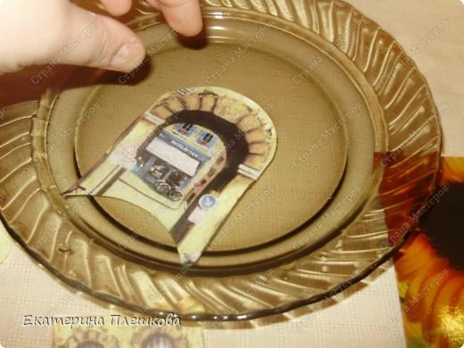 Декор предметов, Мастер-класс Декупаж: МК Чайного домика. Бумага, Дерево, Крупа 8 марта, День рождения. Фото 13