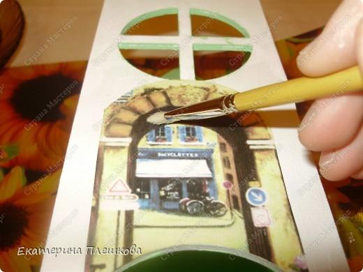 Декор предметов, Мастер-класс Декупаж: МК Чайного домика. Бумага, Дерево, Крупа 8 марта, День рождения. Фото 14