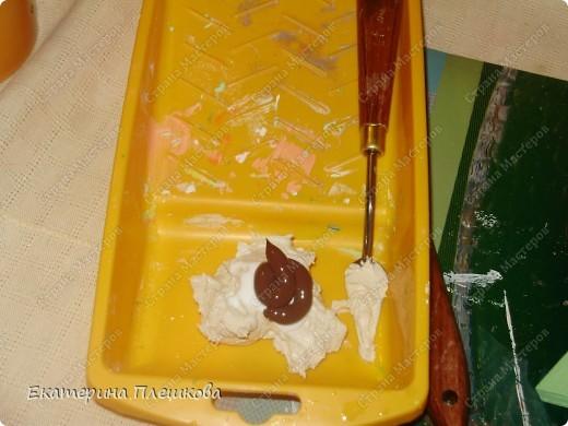Декор предметов, Мастер-класс Декупаж: МК Чайного домика. Бумага, Дерево, Крупа 8 марта, День рождения. Фото 33
