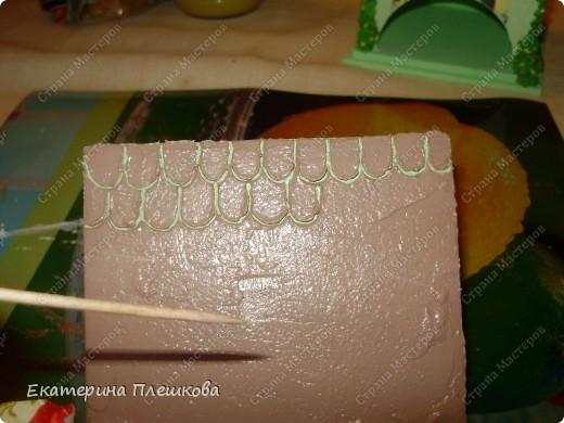 Декор предметов, Мастер-класс Декупаж: МК Чайного домика. Бумага, Дерево, Крупа 8 марта, День рождения. Фото 34