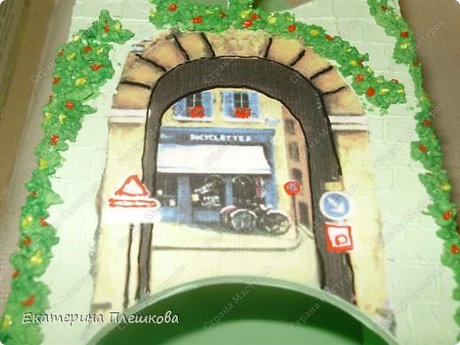 Декор предметов, Мастер-класс Декупаж: МК Чайного домика. Бумага, Дерево, Крупа 8 марта, День рождения. Фото 28
