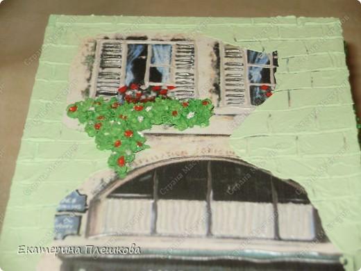 Декор предметов, Мастер-класс Декупаж: МК Чайного домика. Бумага, Дерево, Крупа 8 марта, День рождения. Фото 30