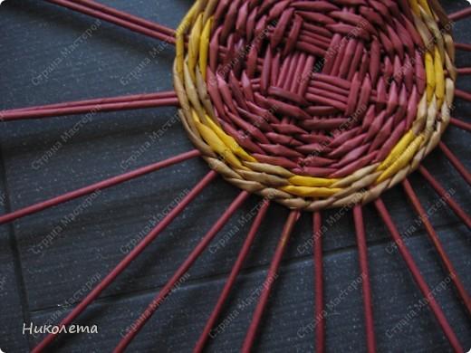 Мастер-класс, Поделка, изделие Плетение: ёжик из газет Бумага газетная Отдых. Фото 8