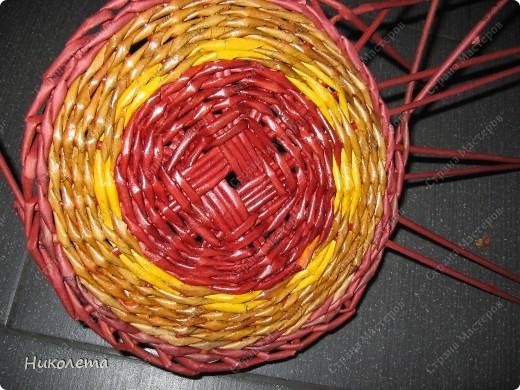 Мастер-класс, Поделка, изделие Плетение: ёжик из газет Бумага газетная Отдых. Фото 10