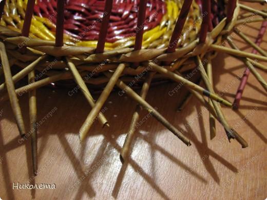 Мастер-класс, Поделка, изделие Плетение: ёжик из газет Бумага газетная Отдых. Фото 15