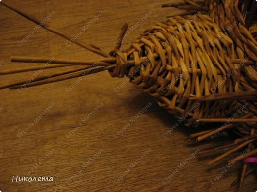 Мастер-класс, Поделка, изделие Плетение: ёжик из газет Бумага газетная Отдых. Фото 20
