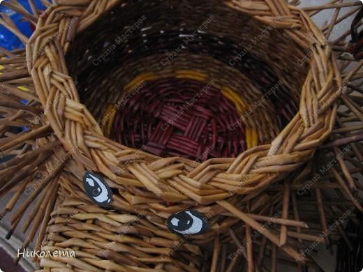 Мастер-класс, Поделка, изделие Плетение: ёжик из газет Бумага газетная Отдых. Фото 21