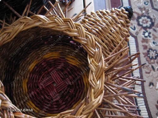Мастер-класс, Поделка, изделие Плетение: ёжик из газет Бумага газетная Отдых. Фото 17