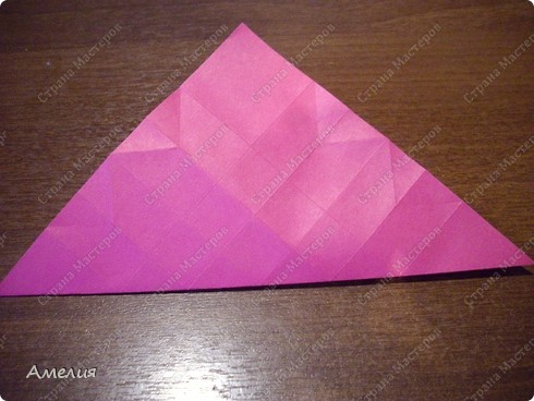 Мастер-класс Оригами, Оригами модульное: Розочки Кавасаки в вазочке+МК Бумага. Фото 20