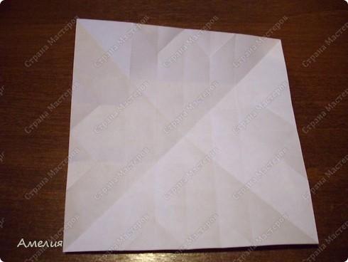 Мастер-класс Оригами, Оригами модульное: Розочки Кавасаки в вазочке+МК Бумага. Фото 21