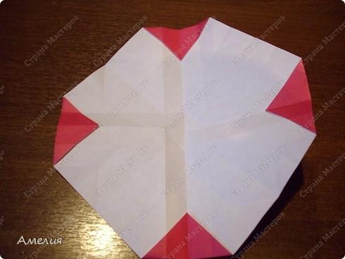 Мастер-класс Оригами, Оригами модульное: Розочки Кавасаки в вазочке+МК Бумага. Фото 27