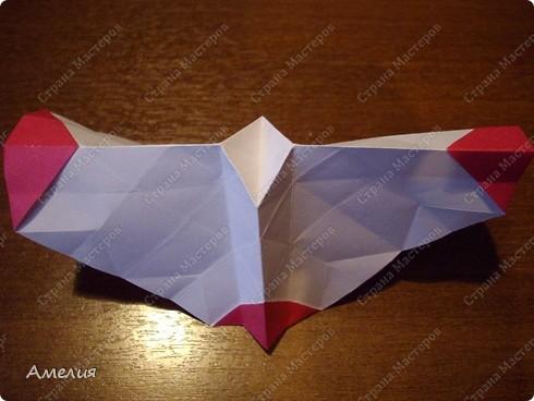 Мастер-класс Оригами, Оригами модульное: Розочки Кавасаки в вазочке+МК Бумага. Фото 29